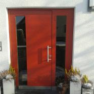 individuelle Planung, Entwicklung und Montage einer Haustüranlage für Privatkundschaft in Schönerstadt