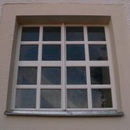 Restauration: Einbau Fenster