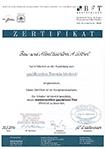 Zertifikat - Ausbildung zum qualifizierten Türenfachbetrieb